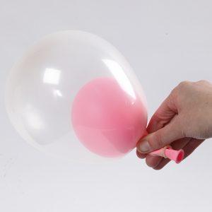 Babyshower ballong idé