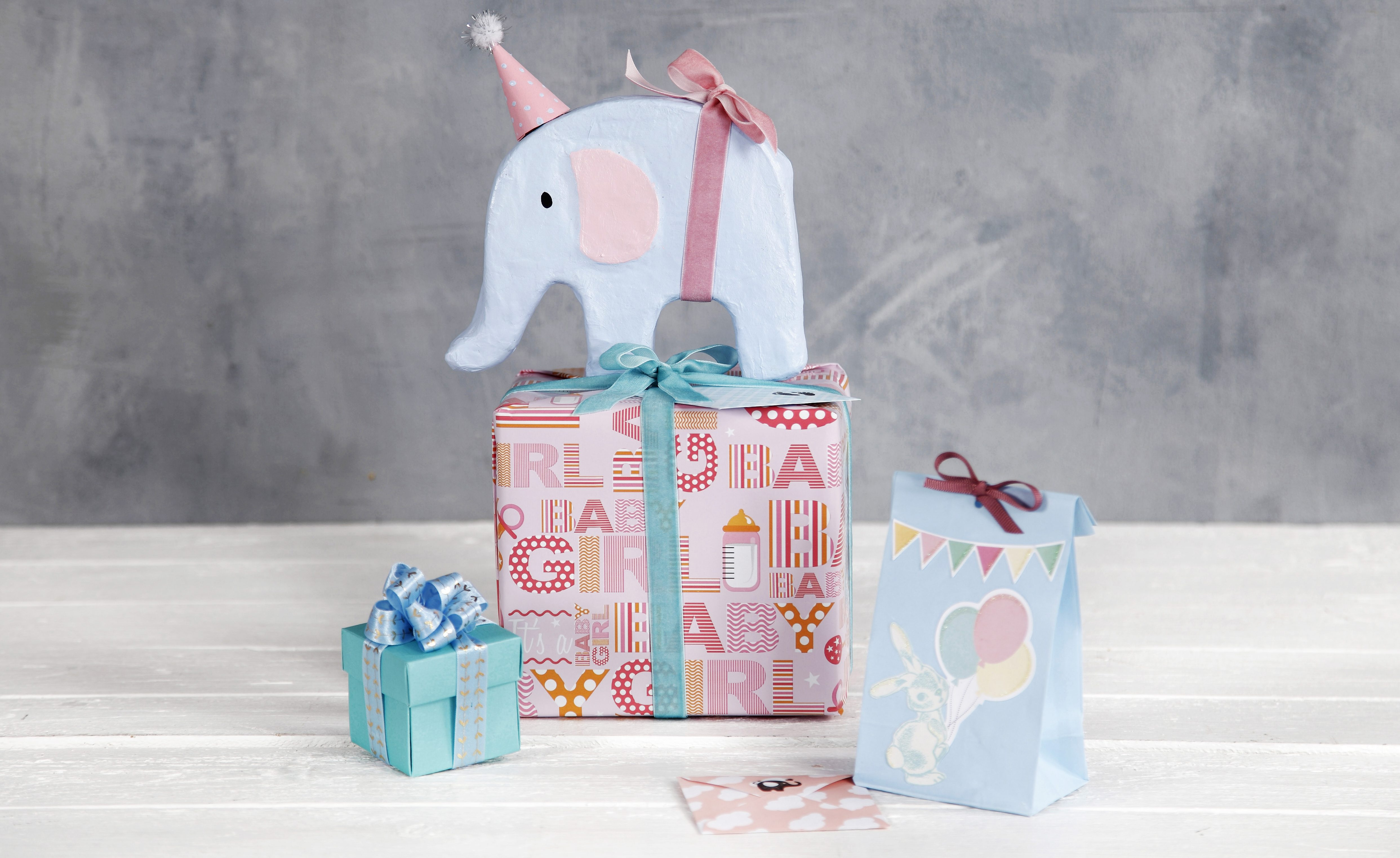 Babyshower presentinslagning inspiration