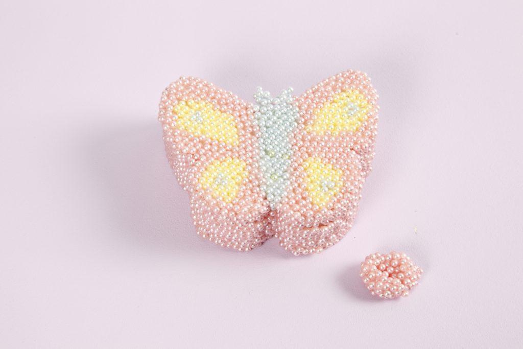 Kreativa idéer med Pearl Clay dekorerat smyckeskrin av trä