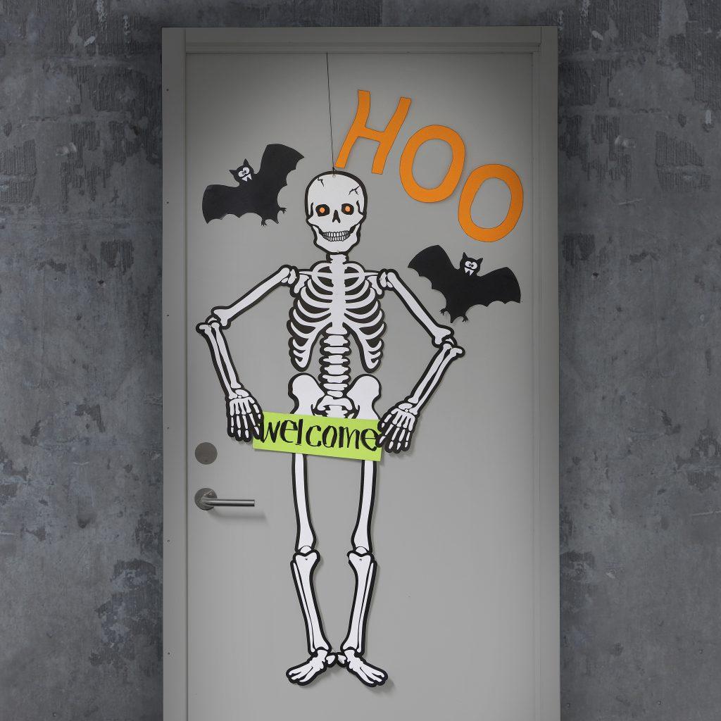 Kreativ halloween gör själv dekorationer spöken
