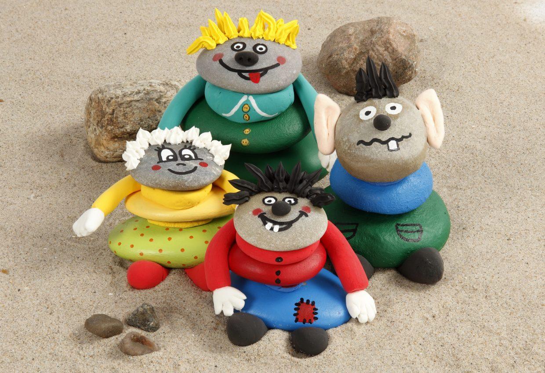 kreativa idéer till barn - med inspiration och tips till att måla på sten