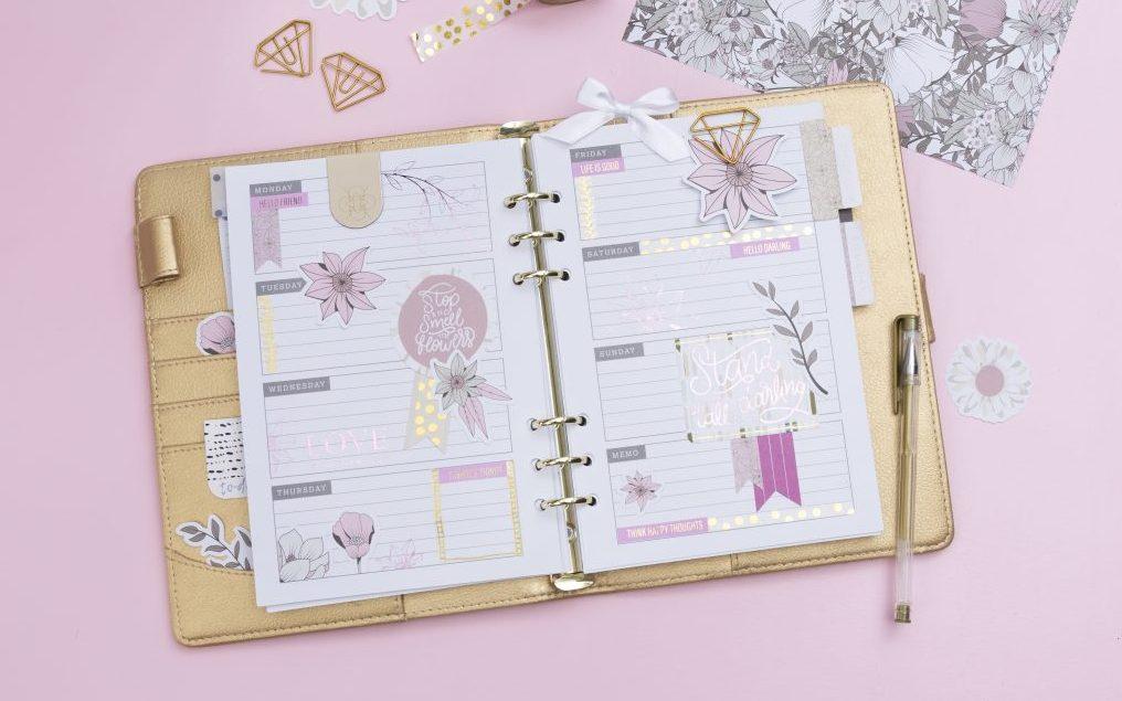 Gör en bullet journal och planner - hitta inspiration och idéer här