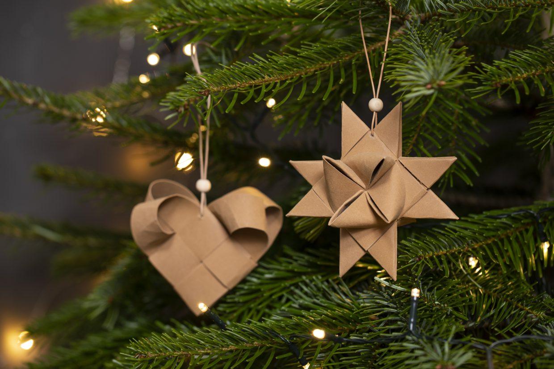 Gör egna juldekorationer till julgranen - DIY julpynt för hela familjen