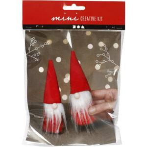 DIY jul med hæklet julepynt, filt, nålefilt og macrame