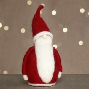 DIY jul med virkade juldekorationer, filt, nålfilt och makramé