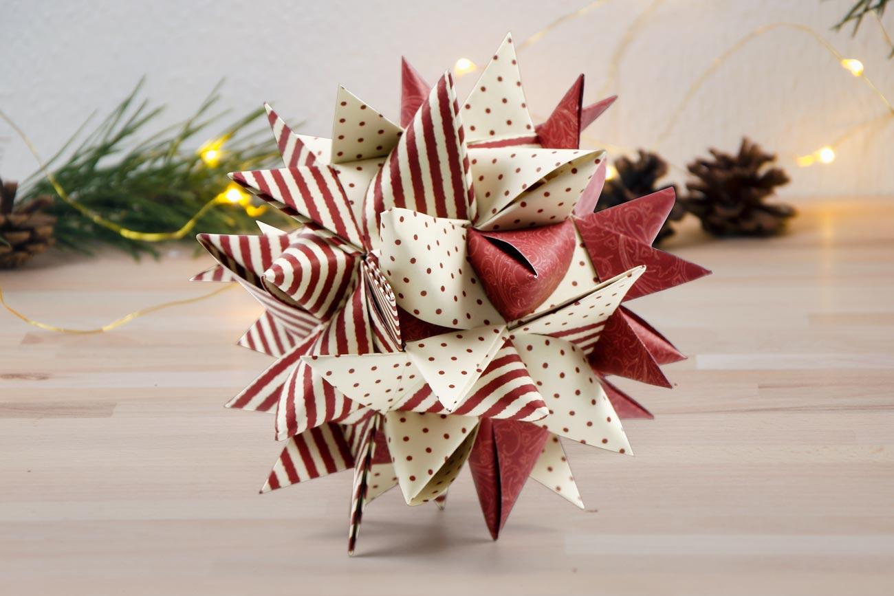 Gör egna juldekorationer: julstjärna och snöflinga till jul