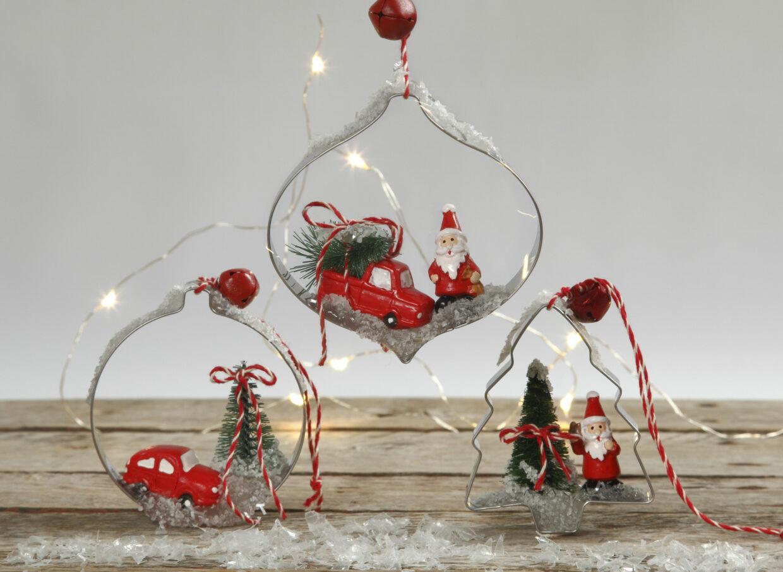 DIY med kakformar och stansformar till jul