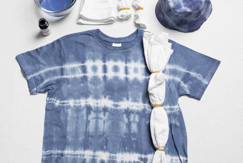 Var kreativ med batik (tie dye) och textildekoration