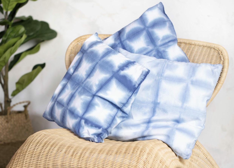 Var kreativ med batik (tie dye) och textildekoration (shibori)