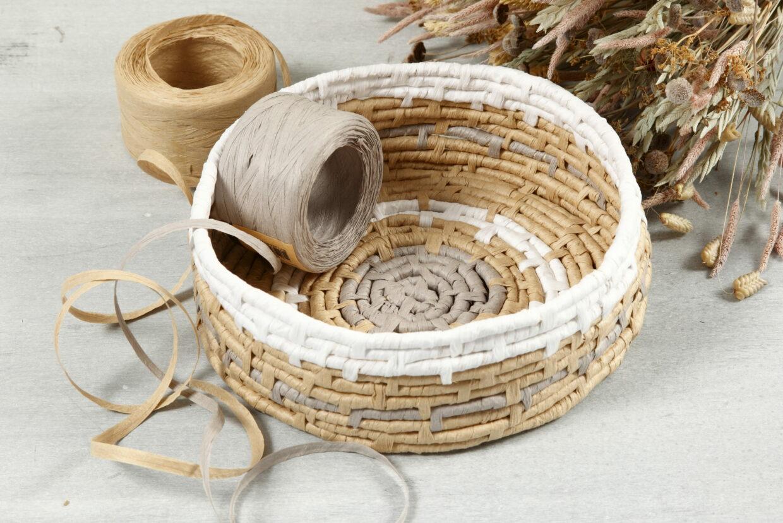 Hållbar DIY med raffia