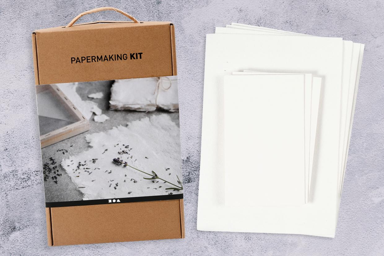 handgjort papper, pappertillverkning och kreativ fördjupelse