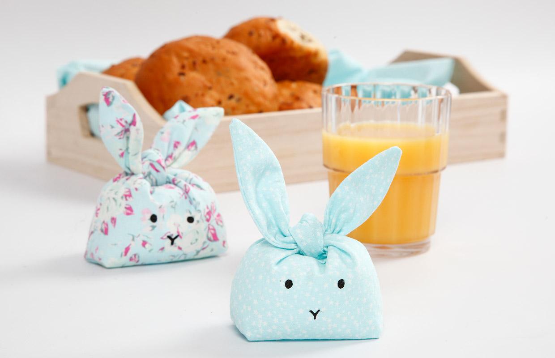 Påsk: Sydda kaniner till dekoration och lek